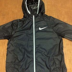 Girls Black and white nike jacket, size M